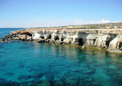 Cape Greco, scenery, calm, sea, stunning
