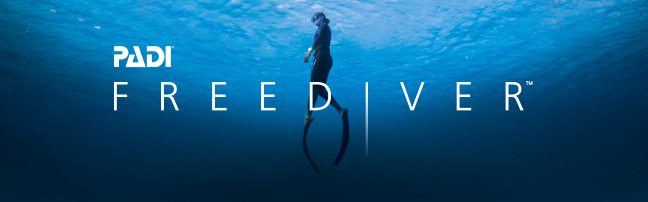 freediving, header, ocean, sea, blue, freediver, fins