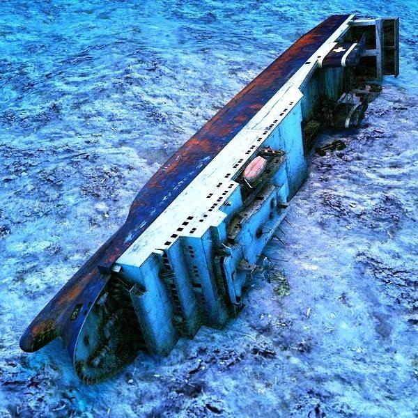 Dive Trips, zenobia, sea bed, lying portside, wreck